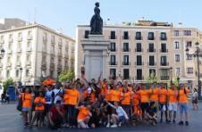 Thumbnail ISC-Schülergruppe besuchen die wichtigsten Orte in Madrid