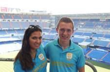 Thumbnail ISC Schüler im Fußballstadion Santiago Bernabéu (Real Madrid)