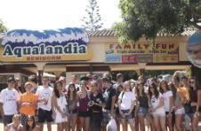 Thumbnail ISC Schüler im Wasserpark Aqualandia