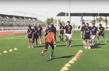 Thumbnail ISC Teilnehmer beim Leichtathletik Sommercamp in Spanien