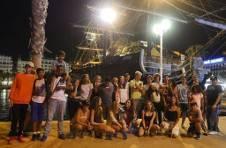 Thumbnail Teilnehmer besuchen den Hafen in Alicante