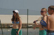 Thumbnail Teilnehmer spielen Strandschläger am Strand Alicante