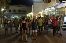 Thumbnail Beim Herumlaufen in Guadalest mit ISC Teilnehmern