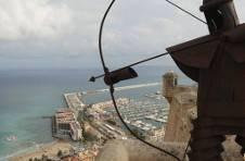 Thumbnail Aussicht auf den Hafen aus der Spitze der Burg Santa Bárbara