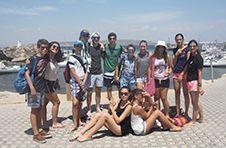 Thumbnail ISC Teilnehmer beim Ankunft auf Tabarca Insel