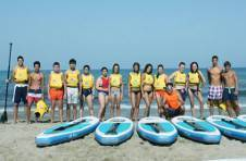 Thumbnail Bereit zum Surfen am Strand Alicante