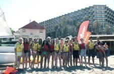 Thumbnail Internationale ISC Teilnehmer am spanischen Strand