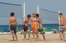 Thumbnail Volleyballspiel am Strand in Alicante