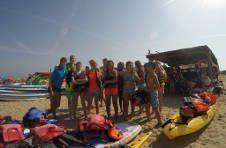 Thumbnail Teilnehmer haben Spaß im ISC Spanien Sommercamp