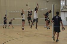 Thumbnail Das Volleyballtraining mit internationalen Spielern