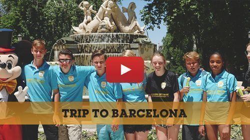 Klassenfahrten nach Barcelona Video