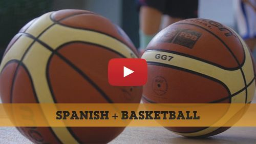 Spanisch + Basketball Video