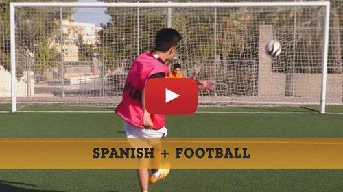 Spanisch + fußball Video