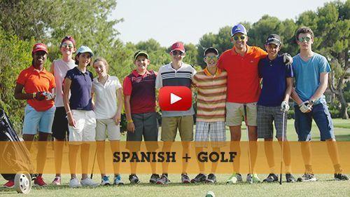 Spanisch + Golfcamp Video
