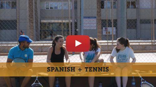 Spanisch + Tenniscamp Video