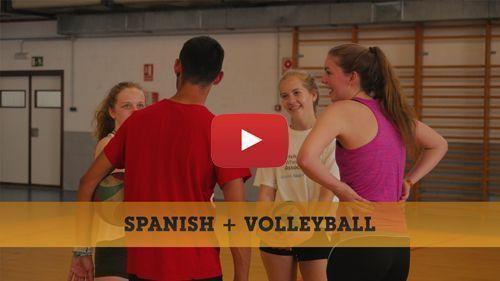 Spanisch + Volleyball Video