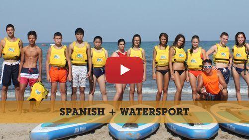 Spanisch + Wassersports Video
